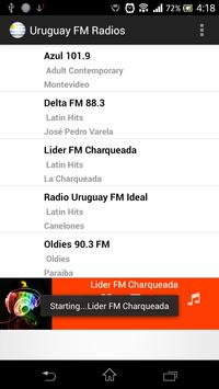 Uruguay FM Radios poster