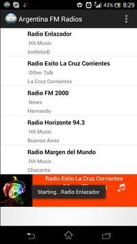 Argentina FM Radios apk screenshot