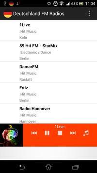 Germany FM Radios poster