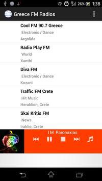 Greece FM Radios apk screenshot