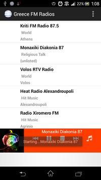 Greece FM Radios poster