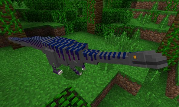 Raptor MOD for MCPE poster