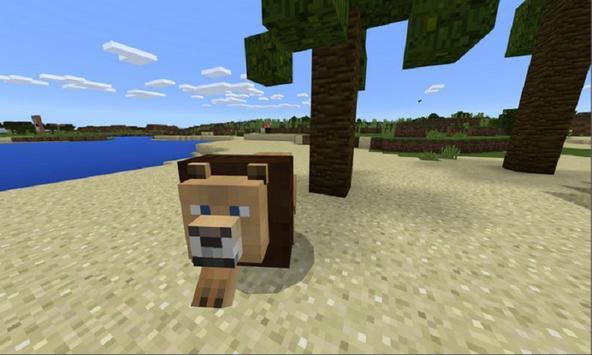 Wild LION MOD for MCPE apk screenshot