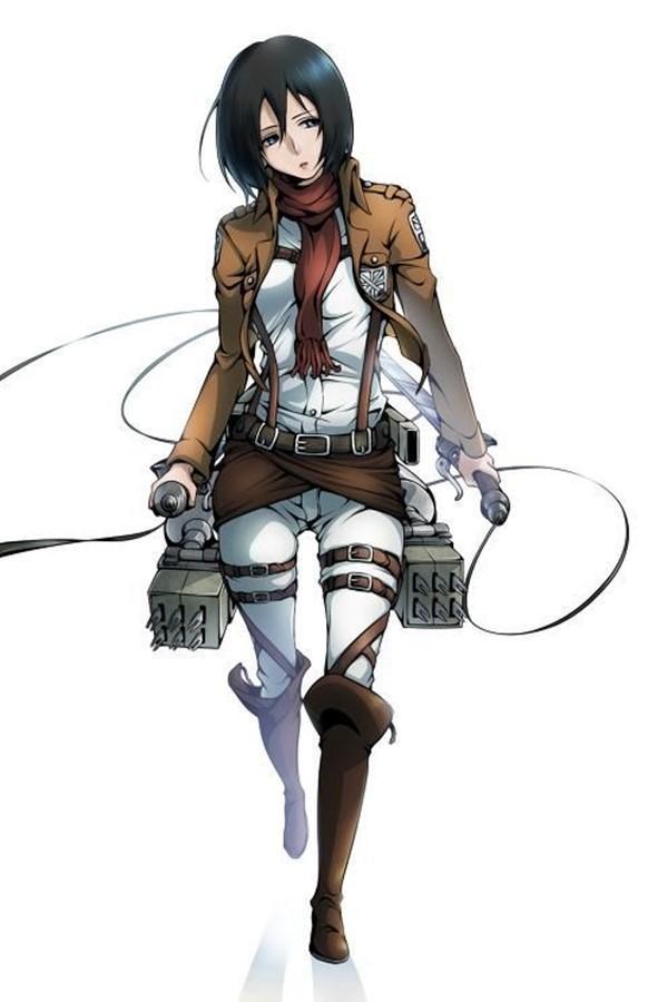 Mikasa Free wallpaper poster