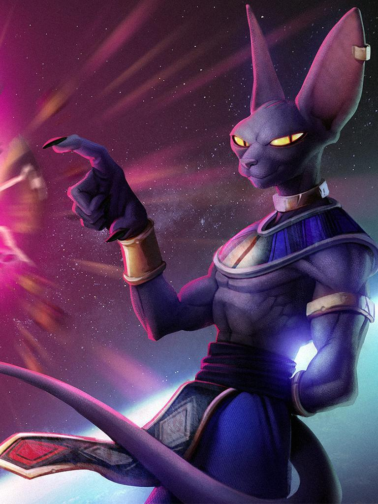 The Lord Beerus God Of Distraction For Android Apk Download