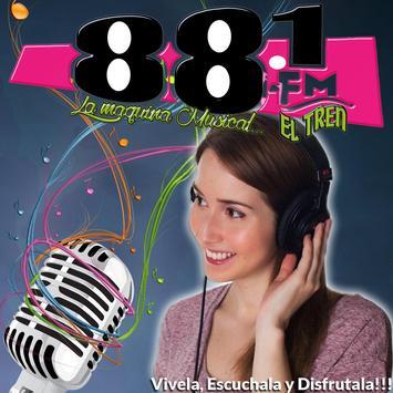 881 fm - La Maquina Musical poster