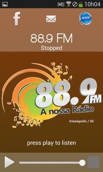 Rádio 88,9 apk screenshot