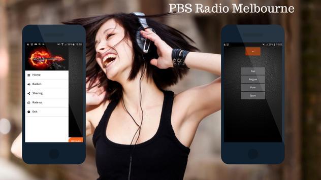 PBS Radio Melbourne FM 106.7 poster