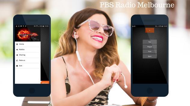 PBS Radio Melbourne FM 106.7 screenshot 1