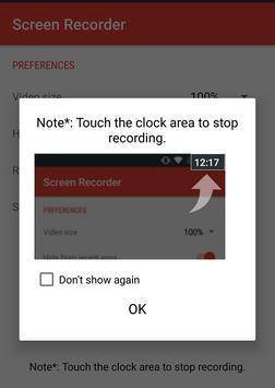 Screen Recorder HD Audio Video screenshot 1