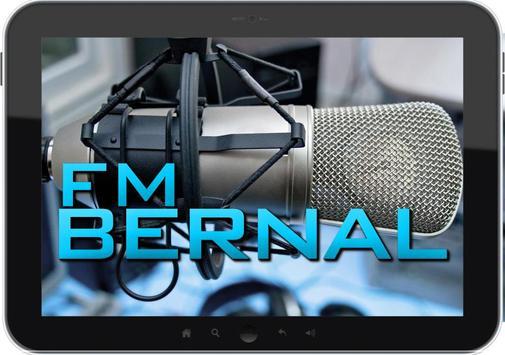 FM BERNAL apk screenshot