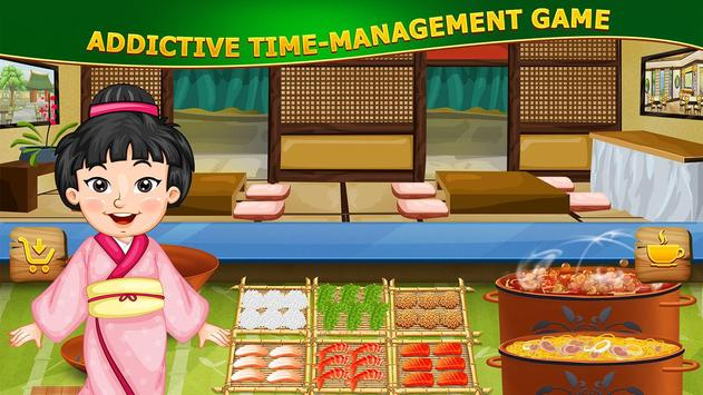 Food Court Fever: Sushi Chef🍣 poster