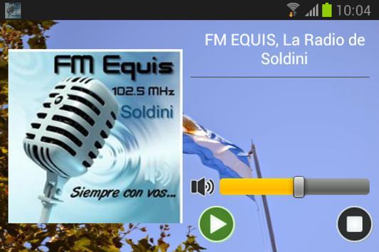 FM EQUIS, La Radio de Soldini screenshot 1