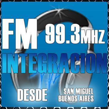 FM Integracion 99.3mhz poster