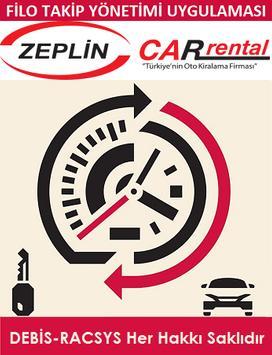 RACSYS Filo Yönetim App (Zeplin) poster