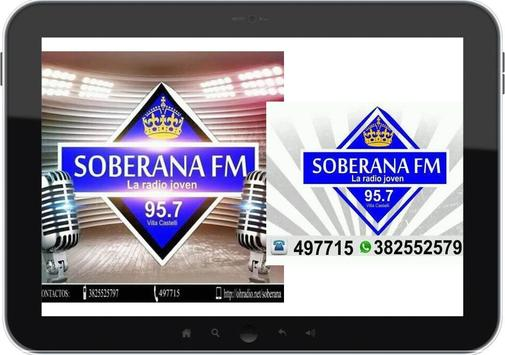 FM SOBERANA 95.7 apk screenshot