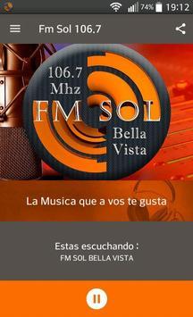Fm Sol 106.7 Bella Vista poster