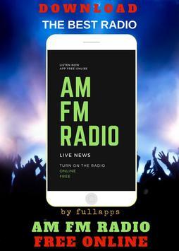 RADIO FM - Live News, Sports & Music Stations AM poster