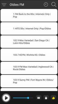 Oldies Radio FM Music Online screenshot 5
