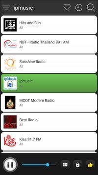 Thailand Radio FM Free Online screenshot 1