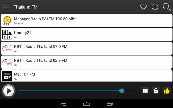 Thailand Radio FM Free Online screenshot 7