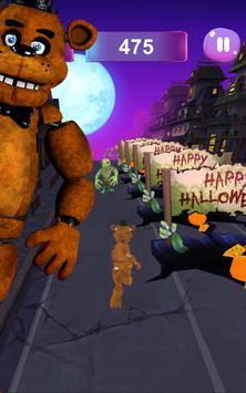 Five Nights Freddy Run: FNAF, Zombie, Halloween 5 screenshot 4