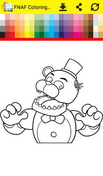 Coloring Book Five Nights Apk Screenshot
