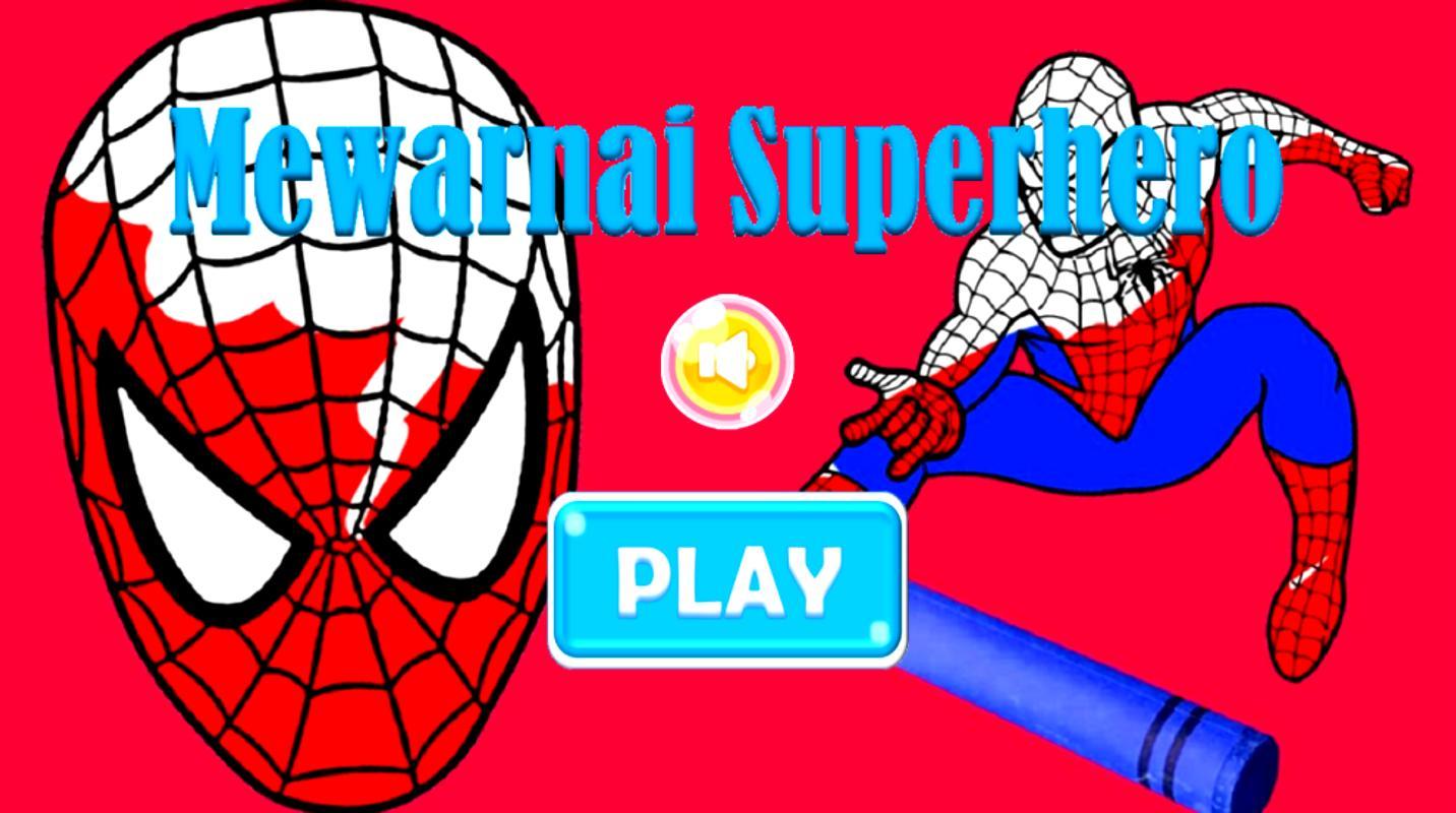 Belajar Mewarnai Superhero For Android Apk Download