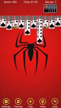 Spider Solitaire - Windows Classic screenshot 2