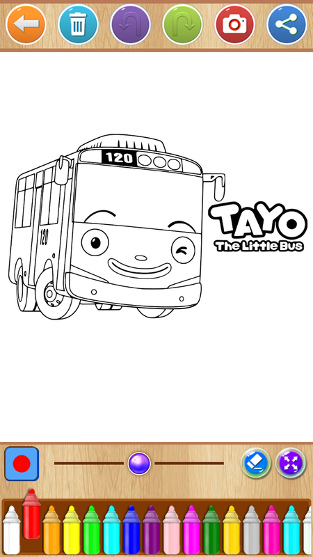 Tayo Bus Coloring For Android Apk Download