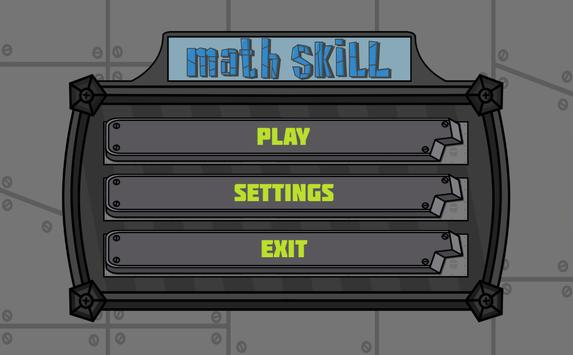 Math Skill screenshot 3