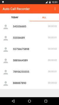 Smart Call Recorder apk screenshot