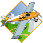 Real 3D Pilot Airplane Flight icon