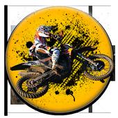 Motocross 3D Trial Bike Racing icon