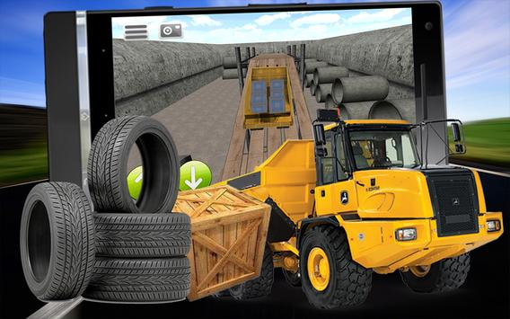 Real 4x4 Offroad 3D Dump Truck apk screenshot