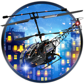 Fly City Helicopter 3D Choper icon
