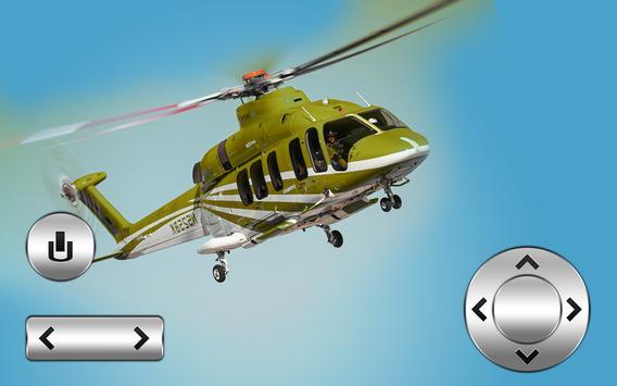 Fly City Helicopter 3D Choper apk screenshot