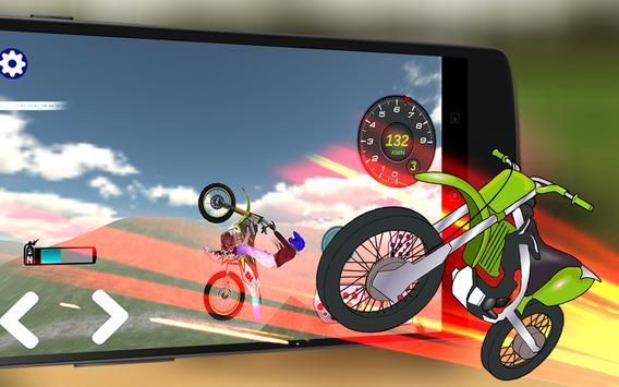 Offroad Dirt Motorbike 3D Race screenshot 11