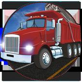 Truck Car Transport Parking 3D icon