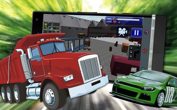 Truck Car Transport Parking 3D apk screenshot