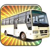 🚍 City Bus Driving Parking 3D icon