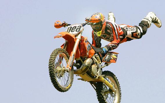 Extreme Motorbike Stunt Racing poster