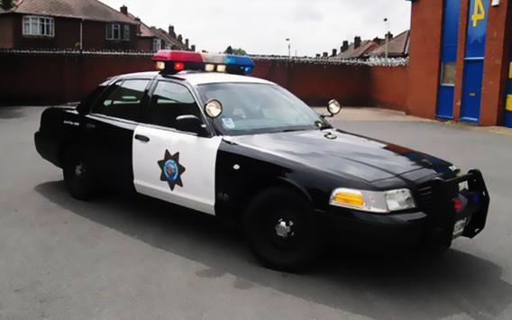 3D Police Car Chase City Crime screenshot 5