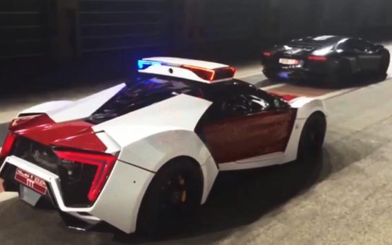 3D Police Car Chase City Crime screenshot 8