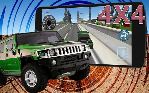 🚙Real 4X4 Truck City Drive 3D apk screenshot