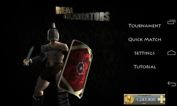 Real Gladiators screenshot 1