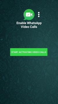 Enable WhatsApp Video Calls screenshot 1