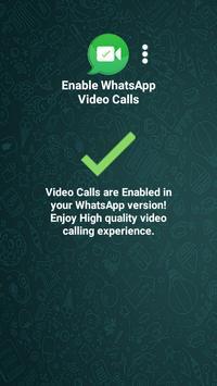Enable WhatsApp Video Calls screenshot 2