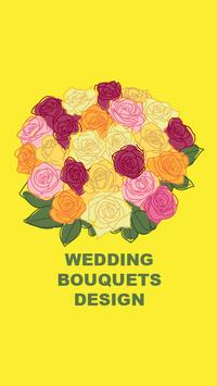 Wedding Bouquets Design poster