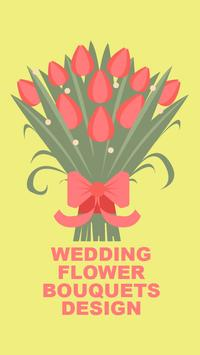 Wedding Flower Bouquets Design poster